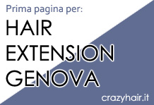 Prima pagina con 'Hair Extension Genova'