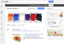 G'Studio Solutions su Google+