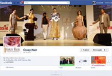 Crazy Hair su Facebook